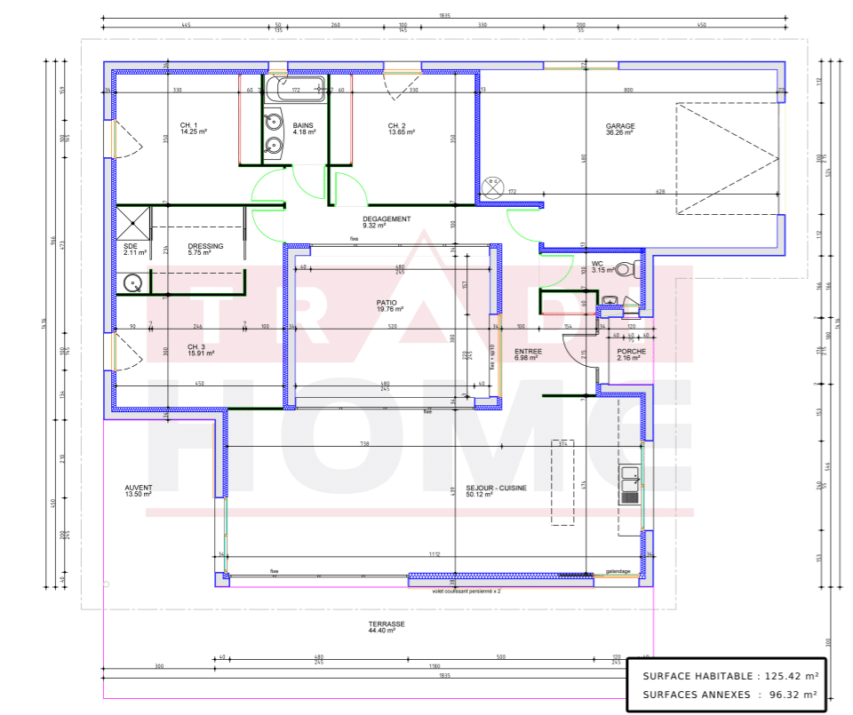 Maison contemporaine - Polaris 125